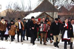 De winter die Carnaval 31 beëindigen stock afbeeldingen