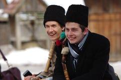 De winter die Carnaval 27 beëindigen stock fotografie