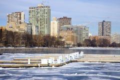 De winter door Gouden Kust Royalty-vrije Stock Foto