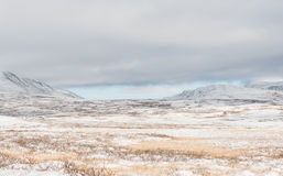 De winter Dovrefjell Royalty-vrije Stock Afbeeldingen