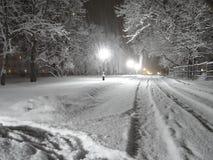 De winter is een magische tijd van jaar stock afbeelding