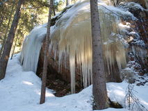De winter in Finland Royalty-vrije Stock Foto