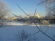 De winter is gekomen stock fotografie