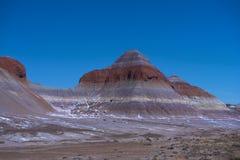 De winter in Geschilderde Woestijn royalty-vrije stock foto's