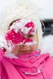 De winter girl3 Royalty-vrije Stock Afbeeldingen
