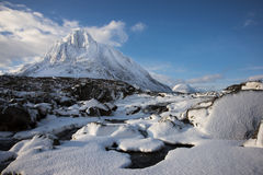 De winter, Glen Coe Royalty-vrije Stock Foto's