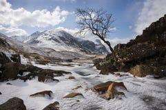 De winter in Glen Coe Royalty-vrije Stock Afbeelding