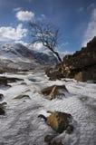 De winter in Glen Coe Royalty-vrije Stock Foto's