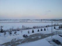 De winter in Greenwood 2014 Royalty-vrije Stock Foto's