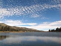 De winter in Groot Beermeer, Californië Stock Foto
