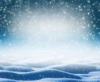 De winter Heldere Achtergrond royalty-vrije stock foto's
