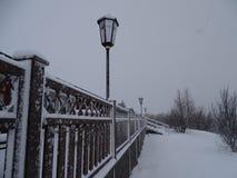 De winter in IJsland Stock Fotografie