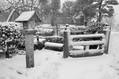 De winter in Japan Stock Afbeelding