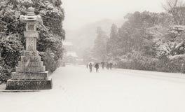 De winter in Japan Royalty-vrije Stock Afbeeldingen