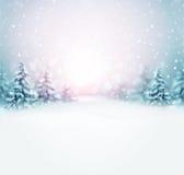 De winter komt Stock Afbeelding