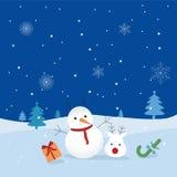 De winter komt Royalty-vrije Stock Afbeelding