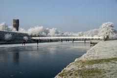 De winter landscape4 Royalty-vrije Stock Foto's