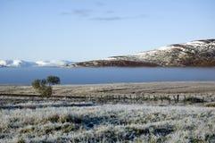 De winter in Loch stock afbeeldingen