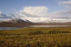 De winter in Loch stock afbeelding