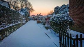 De winter in Londen stock afbeeldingen