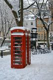 De winter in Londen, Groot-Brittannië Royalty-vrije Stock Afbeelding