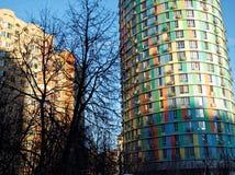 De winter in Moskou Stock Foto's