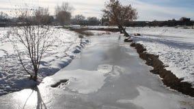De winter New Mexico stock videobeelden