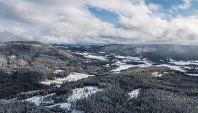 De winter Noorwegen Stock Afbeelding