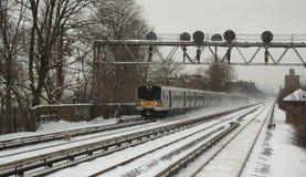 De winter in NYC 5 Stock Afbeeldingen