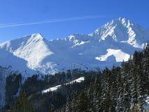 De winter in Oostenrijk Stock Afbeeldingen