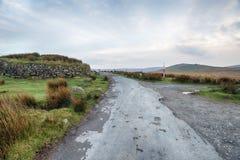 De winter op Dartmoor Royalty-vrije Stock Afbeeldingen