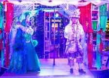 De winter parq toont in Linq Las Vegas Stock Fotografie