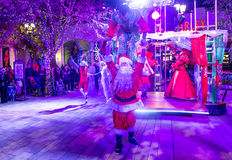 De winter parq toont in Linq Las Vegas Royalty-vrije Stock Foto