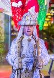 De winter parq toont in Linq Las Vegas Royalty-vrije Stock Afbeeldingen
