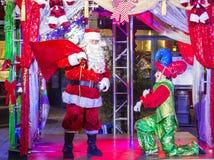 De winter parq toont in Linq Las Vegas Stock Afbeelding