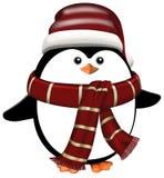 De winter Penquin Royalty-vrije Stock Foto's