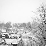 De winter in Pittsburgh Stock Afbeelding