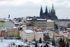 De winter Praag Royalty-vrije Stock Foto