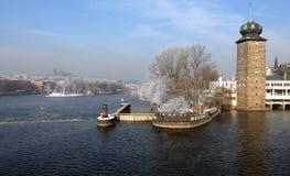 De winter Praag Royalty-vrije Stock Afbeelding