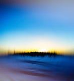 De winter radiale abstractie Royalty-vrije Stock Fotografie