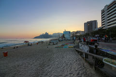 De winter in Rio de Janeiro - Brazilië Royalty-vrije Stock Foto's