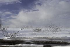 De winter in Rusland Royalty-vrije Stock Foto's