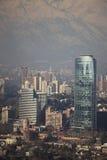 De winter in Santiago Stock Foto's