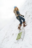 De winter serie Royalty-vrije Stock Fotografie