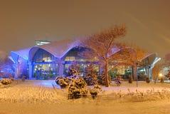 De winter in stad Royalty-vrije Stock Fotografie