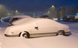 De winter Strom Stock Foto's