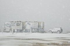 De winter Vacationing royalty-vrije stock foto's