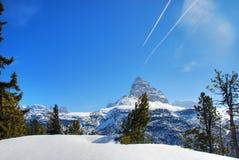 De Winter van alpen, Dolomiet, Italië, 2007 Royalty-vrije Stock Afbeelding