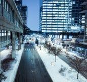 De winter van 2018 van de bomcycloon Royalty-vrije Stock Fotografie