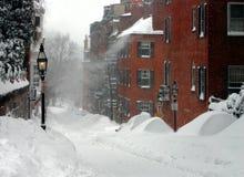 De Winter van Boston Stock Foto